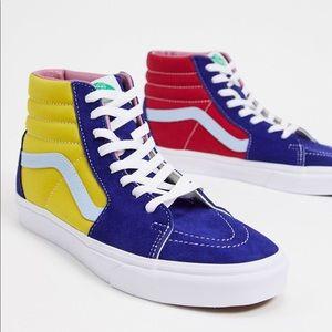 NEW Vans Sk8-Hi Sunshine Sneakers